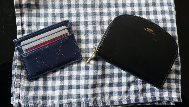 財布とカードケース